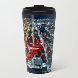 A Peaceful City - Sapporo , Japan ( with Billboard )  Travel Mug