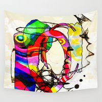 coco Wall Tapestries featuring Coco Loco by Lynsey Ledray