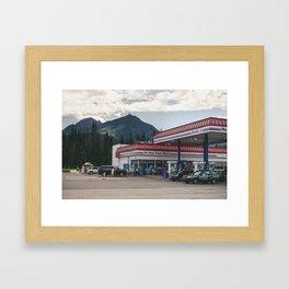Husky Framed Art Print