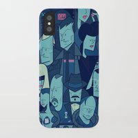 blade runner iPhone & iPod Cases featuring Blade Runner by Ale Giorgini