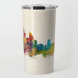 Ho Chi Minh City Saigon Vietnam Skyline Travel Mug