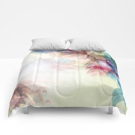 Lavish Abstract Landscape Comforters