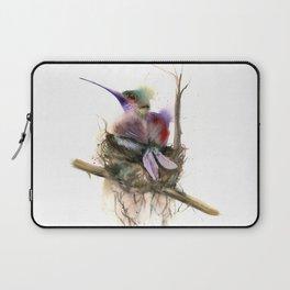 Hummingbird nest Laptop Sleeve