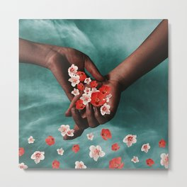 flower rain Metal Print