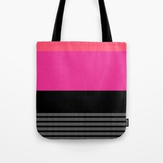 Pink and Coral Tote Bag