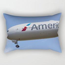 American Airlines Boeing 777 Rectangular Pillow
