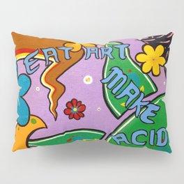 eat art Pillow Sham