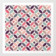 Batik Kawung Art Print