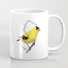 New Jersey – American Goldfinch Coffee Mug