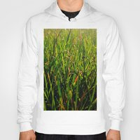 grass Hoodies featuring Grass by Efua Boakye