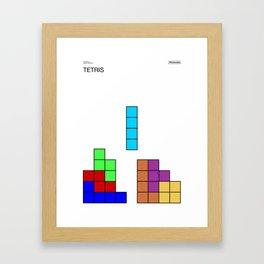 Poster Nintendo Tetris Framed Art Print