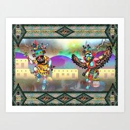 Kachina Eagle Art Print