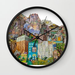 Dreamtropolis Wall Clock
