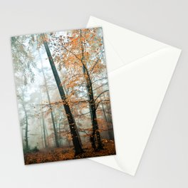 forest colors Stationery Cards