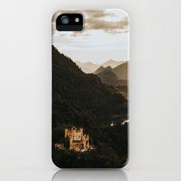Hohenschwangau castle in Germany iPhone Case