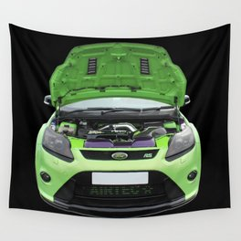 Green Focus RS Wall Tapestry