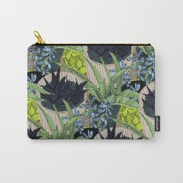 Prickle Print Carry-All Pouch
