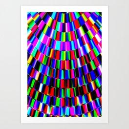 Violet Rays XIII Art Print