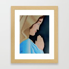 Mary of Nazareth Framed Art Print