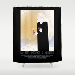 La Petite Fille aux Allumettes Shower Curtain