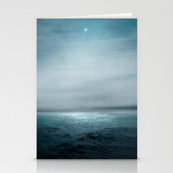 Sea Under Moonlight Stationery Cards