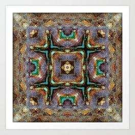 Shipwreck Of Time Art Print
