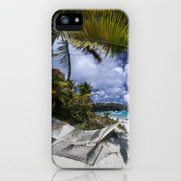 Relax on the Beach iPhone Case