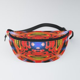 Super Hero Abstract Fanny Pack