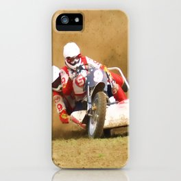 The race is on iPhone Case