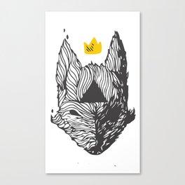 Big Bad Bad Wolf  Canvas Print