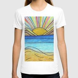 Psychedelic Sunrise T-shirt
