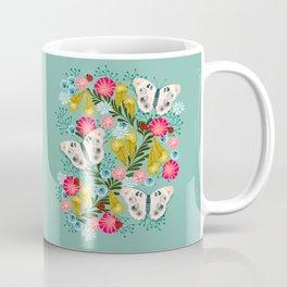 Buckeye Butterly Florals by Andrea Lauren  Coffee Mug