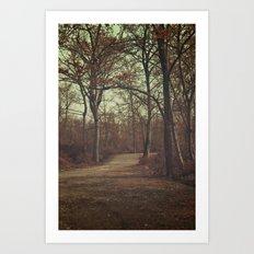 Path to Wonderland II Art Print