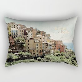 la vita è bella Rectangular Pillow