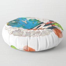 Super Benda - Earth Day Floor Pillow