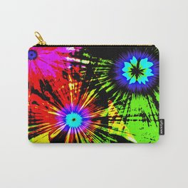 Flower Psychedelic Carry-All Pouch