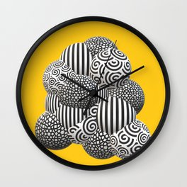 Black and white obsession! Wall Clock