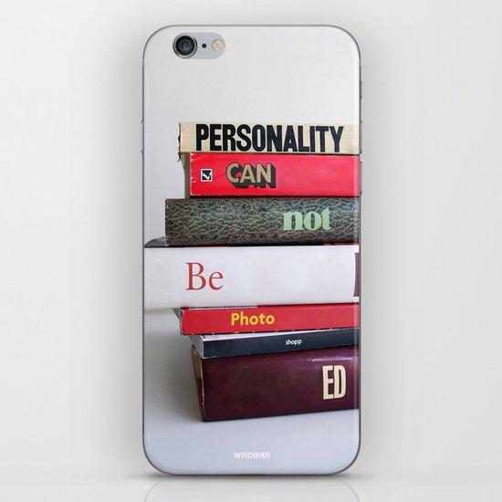Personality iPhone & iPod Skin