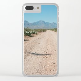 Buzzards Overhead Clear iPhone Case