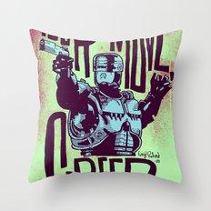 Your move, creep. // ROBOCOP Throw Pillow