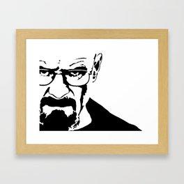 Heisenberg Breakingbad Walterwhite Framed Art Print