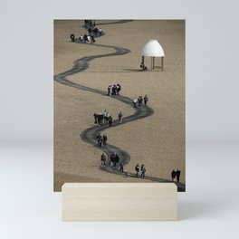 Over the Boardwalk Mini Art Print