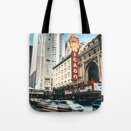 chicago street Tote Bag