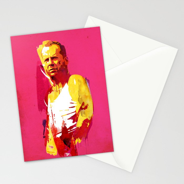 Live fast die hard Stationery Cards
