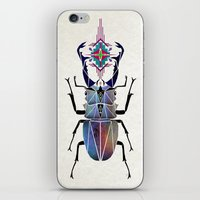 beetle iPhone & iPod Skins featuring beetle by Manoou