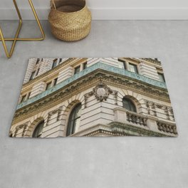 Mint and Cream New York City Rug