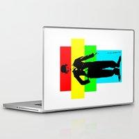 chaplin Laptop & iPad Skins featuring Charlie Chaplin by Silvio Ledbetter