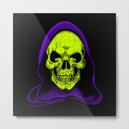 Skeletor Metal Print