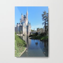 A Day At The Castle Metal Print
