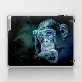A JANE GOODALL quote - universe version Laptop & iPad Skin